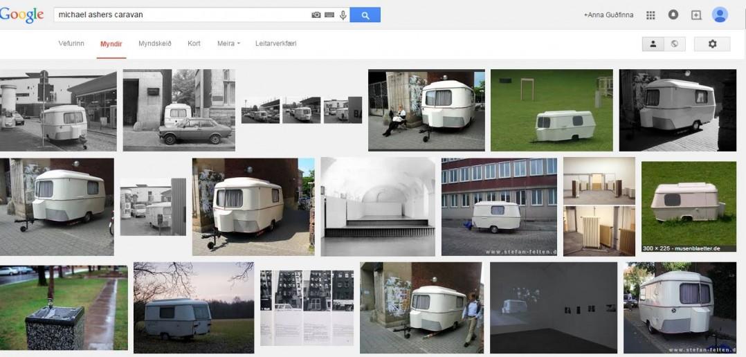 skjáskot af google leitarniðurstöðum sem upp koma þegar þetta verk er slegið inn í leitarstikuna